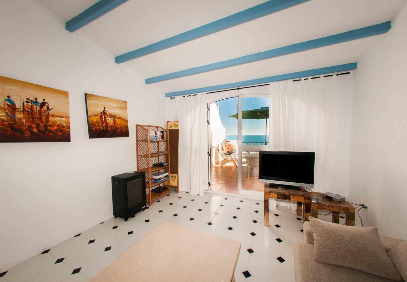 Apartamento en Villajoyosa - ARSENAL 1 - 3 HAB. CON TERRAZA CON VISTAS AL MAR