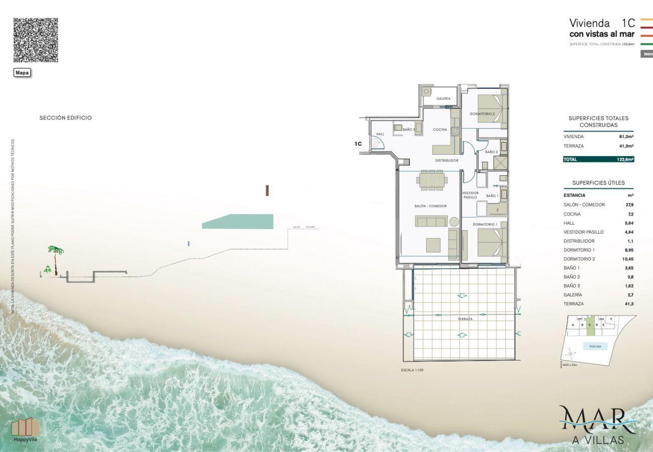 Nueva construcción en Villajoyosa - Mar a Villas 1C