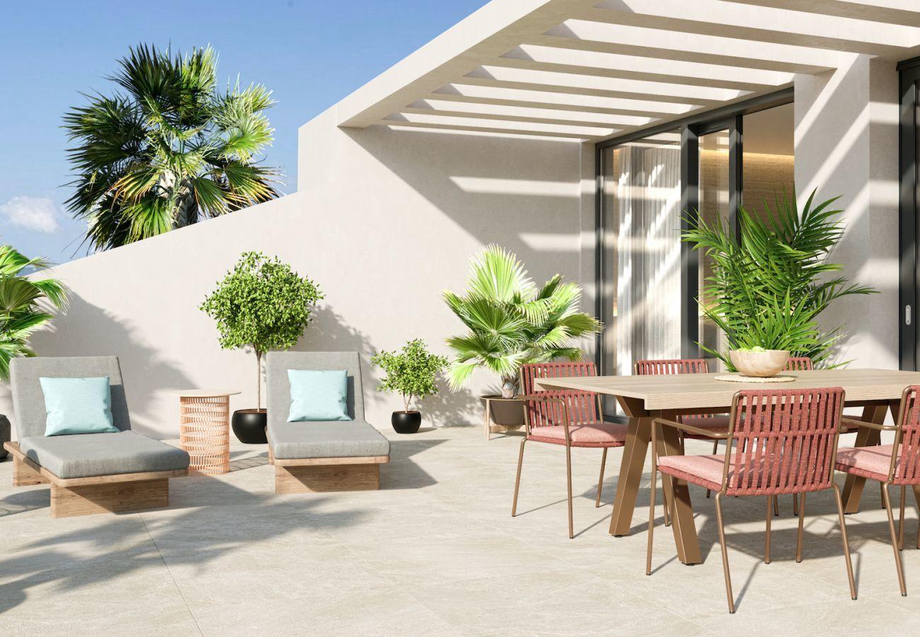 Nueva construcción en Villajoyosa - Mar a Villas Atico C