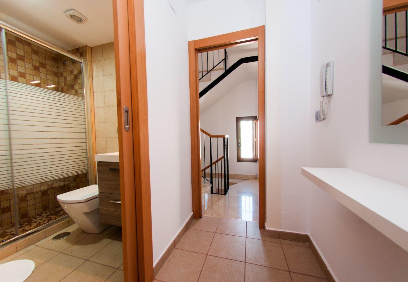 Apartment in Villajoyosa - TRIPLEX - 2 BED. 2 BA. STREET VIEWS (3 LEVELS)