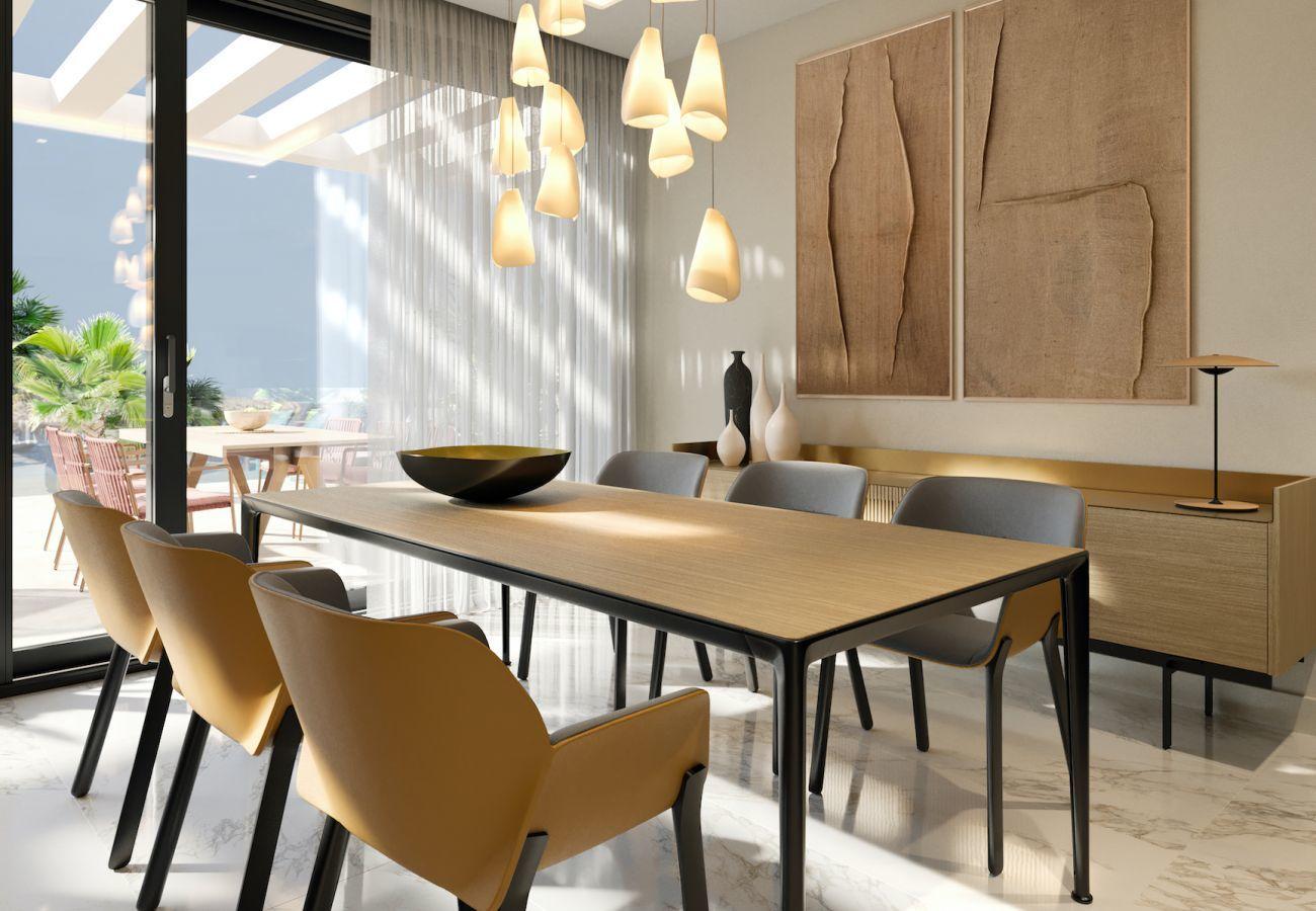 Brand new building in Villajoyosa - Mar a Villas 1B