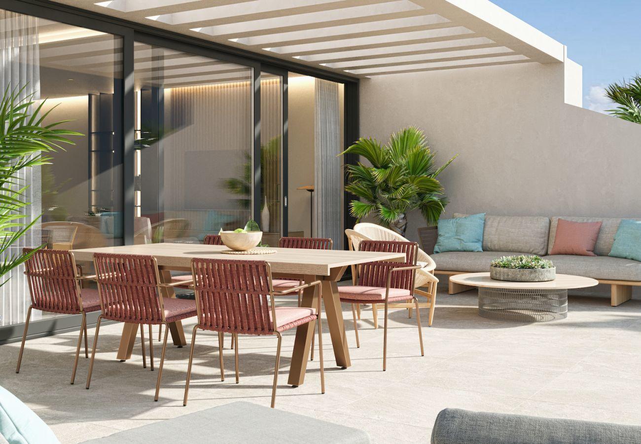 Brand new building in Villajoyosa - Mar a Villas 2A