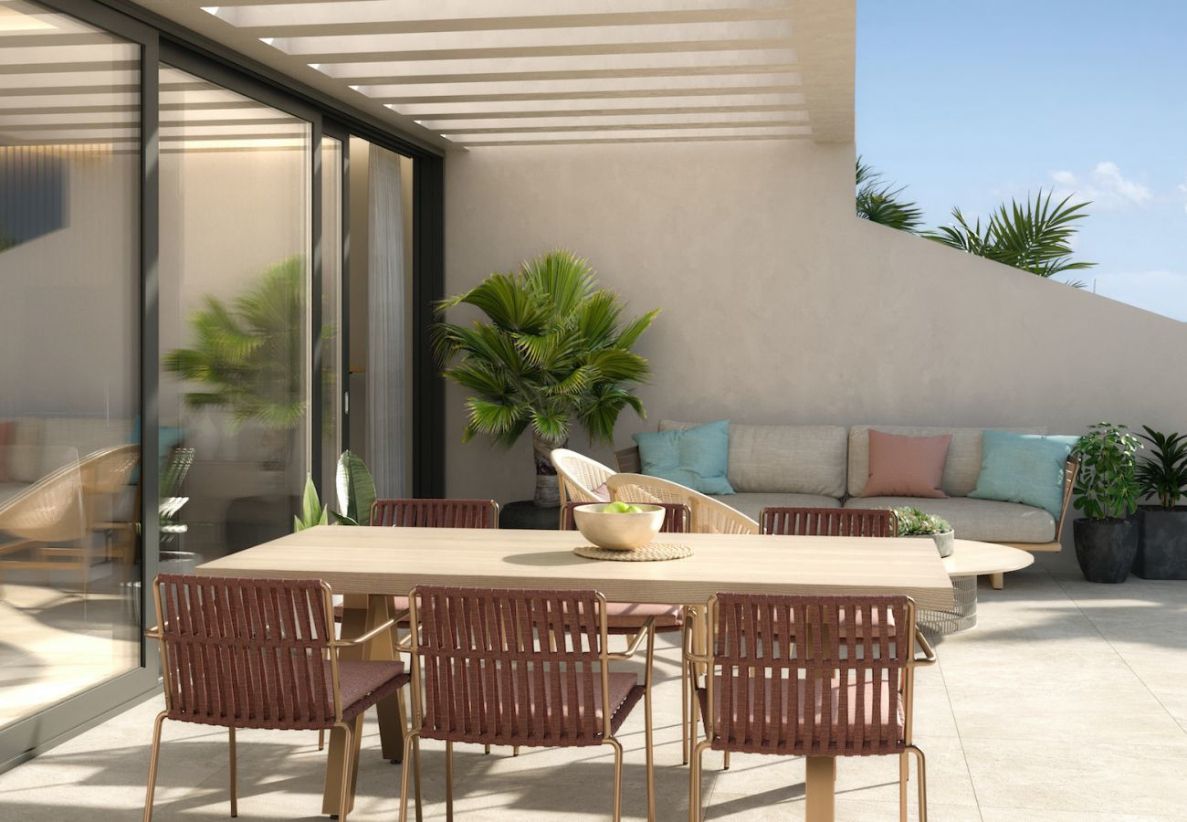 Brand new building in Villajoyosa - Mar a Villas Atico A