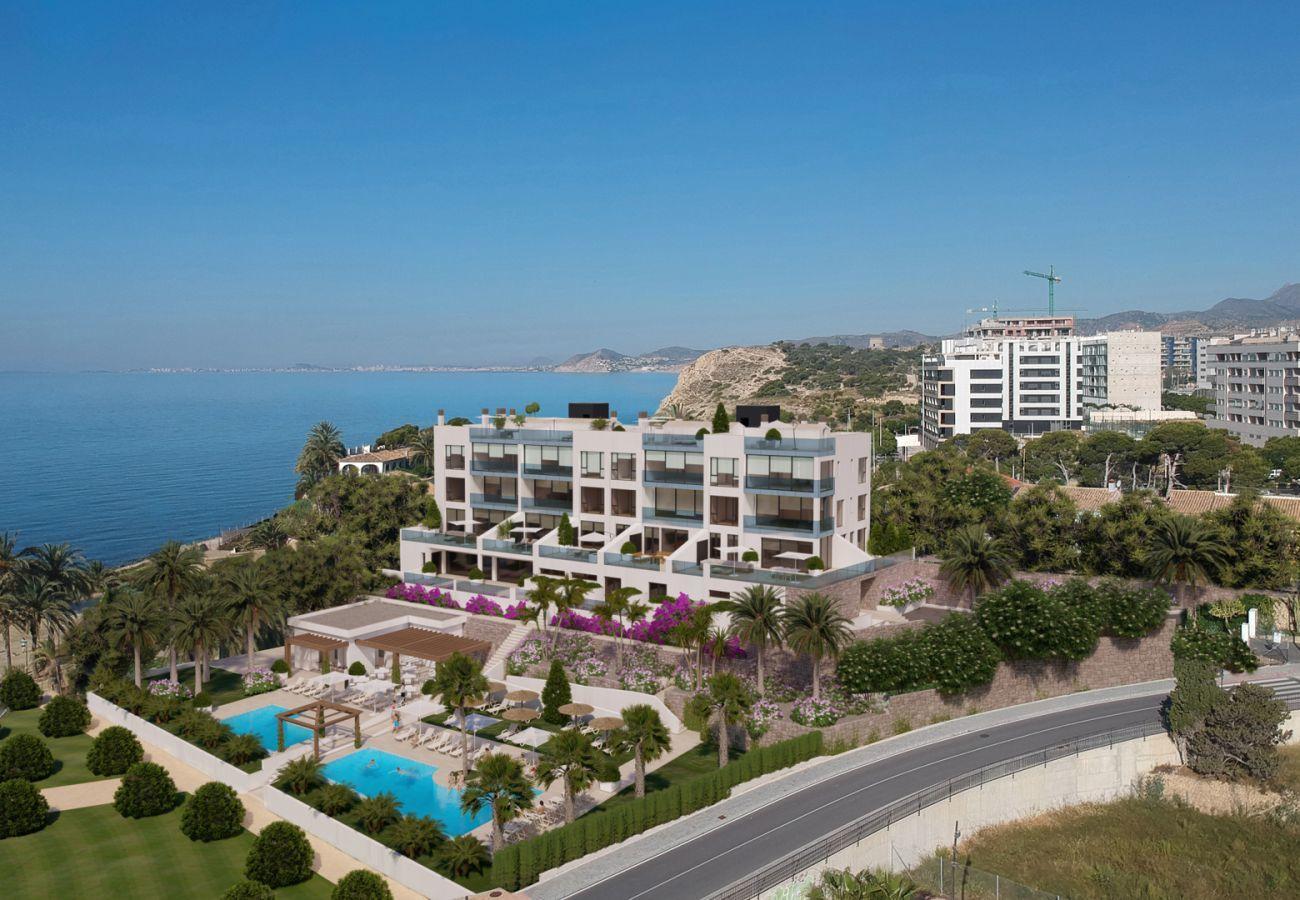 Brand new building in Villajoyosa - Mar a Villas Atico B